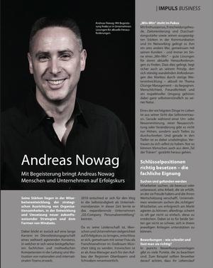 Interview mit dem Gebietsentwickler der GS Company Oberbayern, Andreas Nowag.